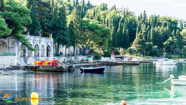 Waterfront of Cavtat, Croatia