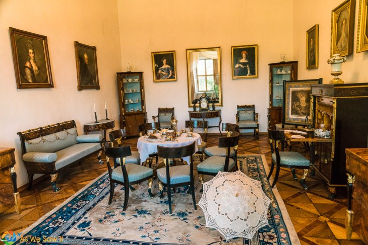 Drawing room in Litomysl Castle