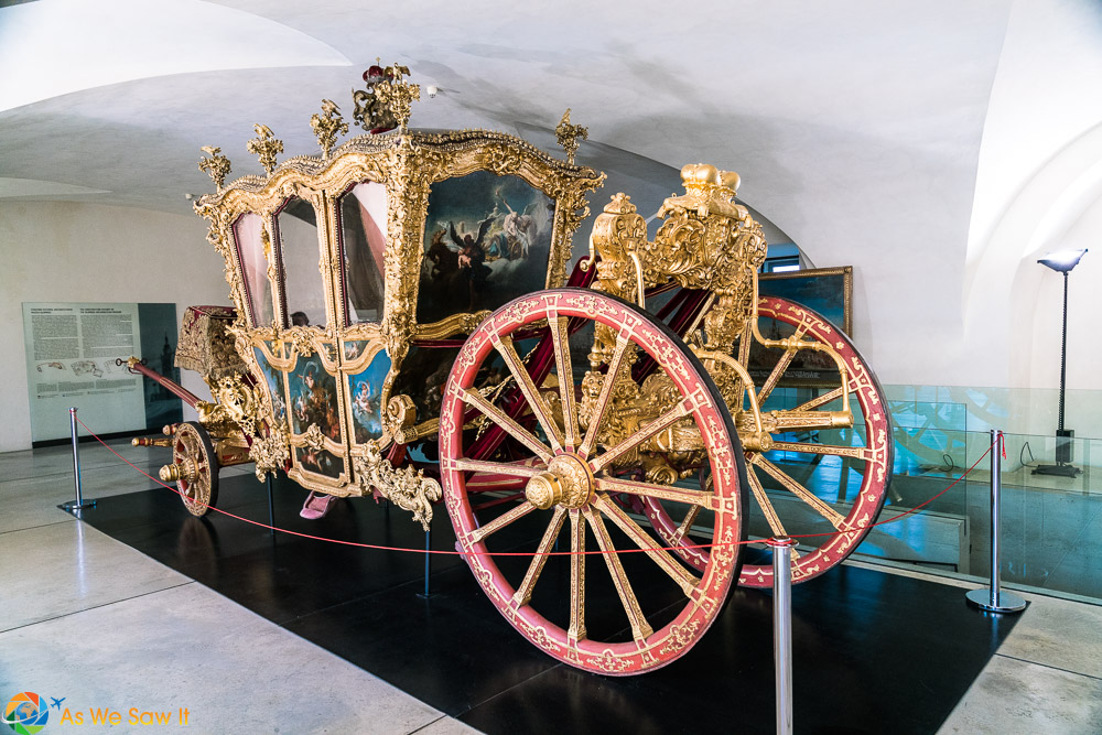 Chariot used by the Archbishop