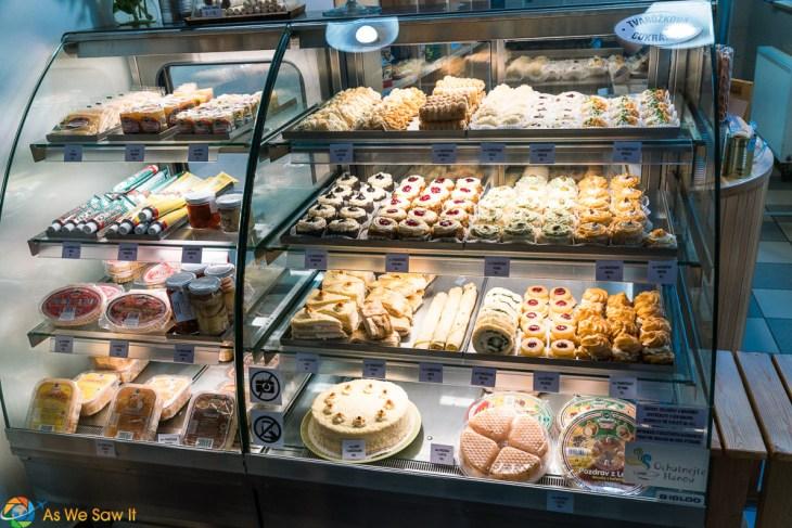 Sweets in Olomouc