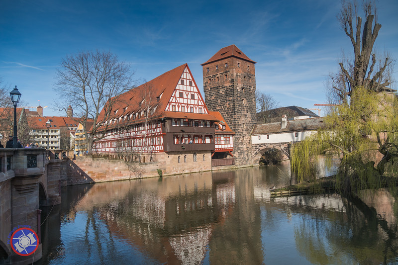 The Weinstadel - Built in the 15th Century and Variously Serving as a House for Lepers, a Wine Store, a Workhouse, Spinnery and Now Used as Student Housing. Adjacent is the Hangman's Tower and Bridge (©simon@myeclecticimages.com)