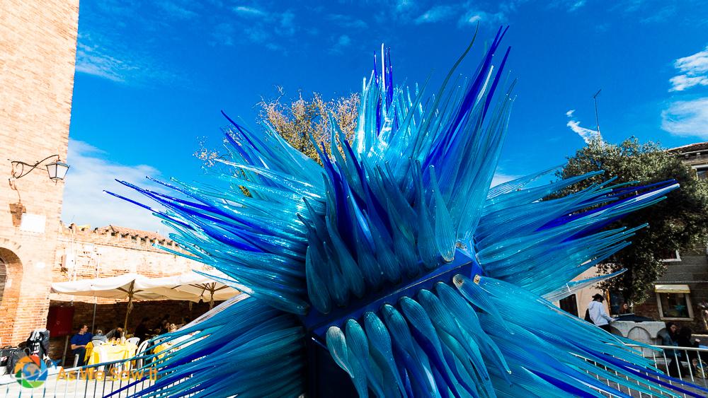 Glass sculpture on Murano
