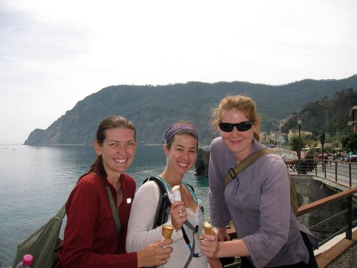 gelato in Monterosso