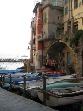 harbor Riomaggiore, Italy