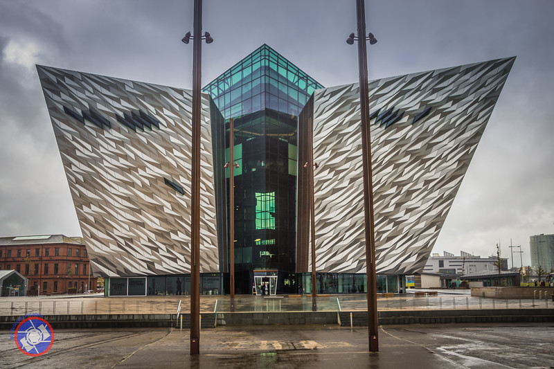 View of Titanic Belfast from the Dry Dock (©simon@myeclecticimages.com)