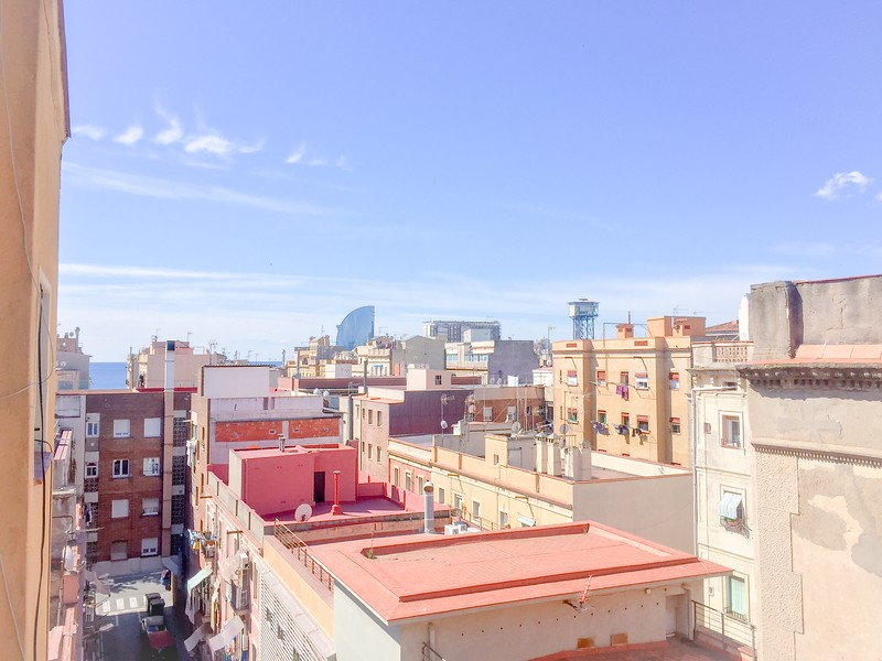views of barceloneta