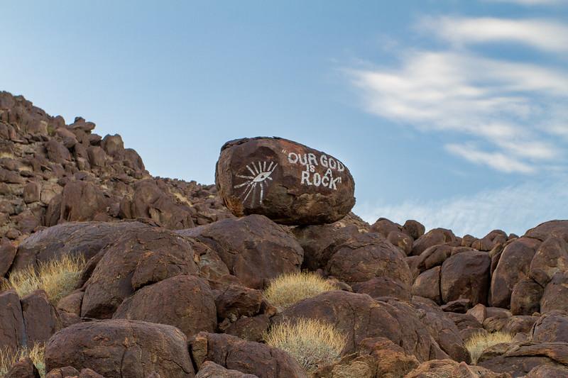 """Zion Wash"" Petroglyphs"