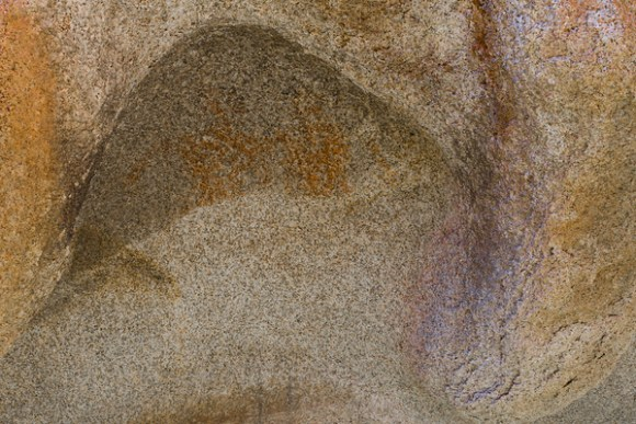 Brunette Red Lady Pictographs