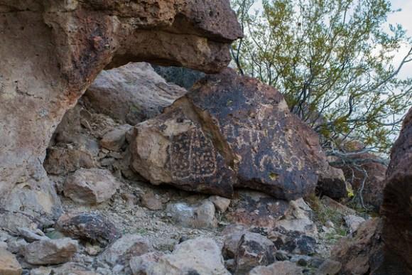 Freight Wagon Petroglyphs