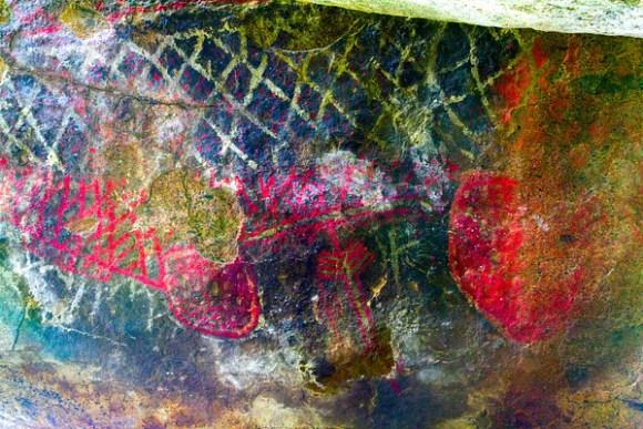 Mockingbird Canyon Pictographs