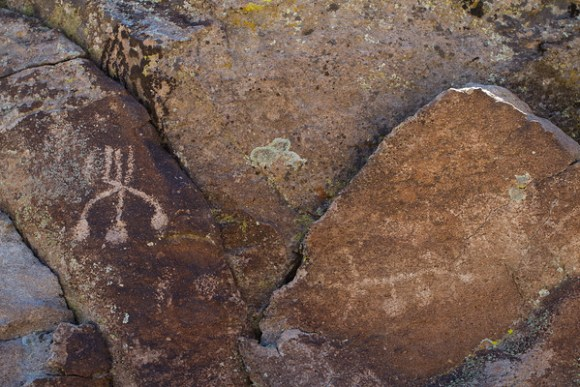 Shooting Gallery petroglyphs
