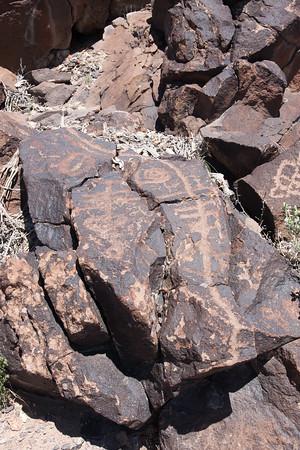 Dancing Man Petroglyphs