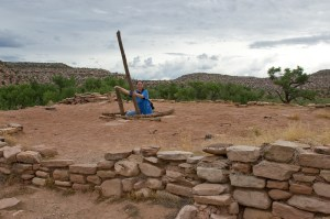 Montezuma Creek and the Three Kiva Pueblo