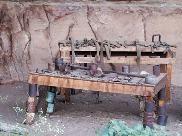 Cave Spring cowboy camp