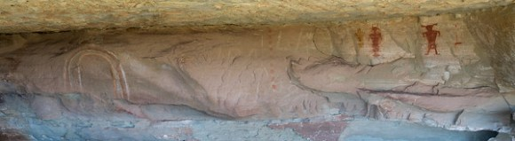 Funks Cave Pictographs