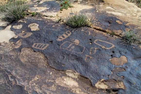 Moccasin Track Petroglyphs