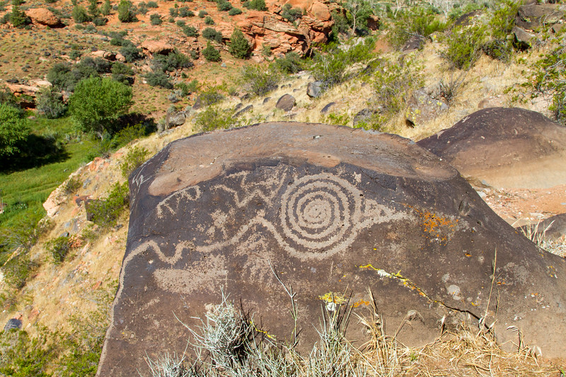 Santa Clara Hillside Petroglyphs