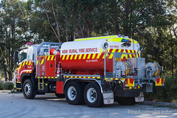NSW RFS Valley Heights Cat 6 Tanker