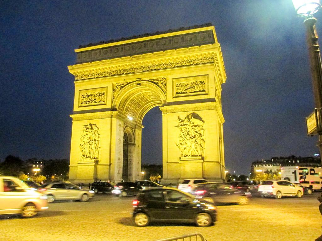 Exploring Paris at night during the month of November