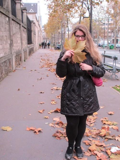 Visiting Paris in November promises plenty of leaves.