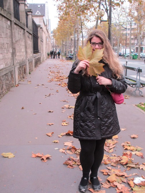 Visiting Paris in November promises plenty of leaves.
