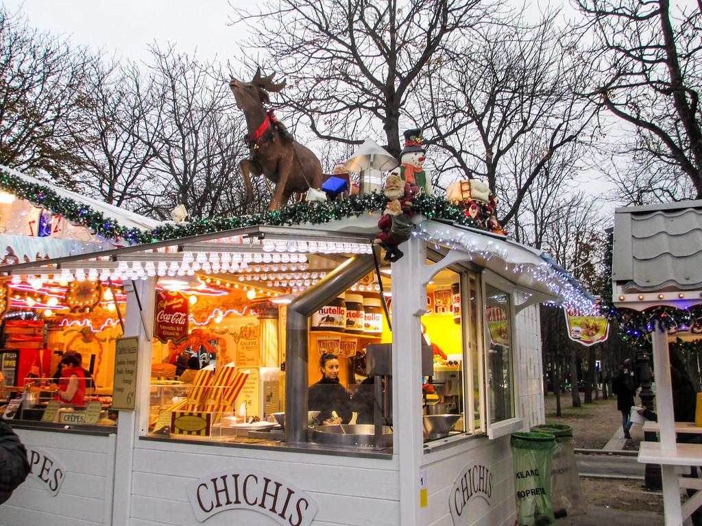 visit Paris in November