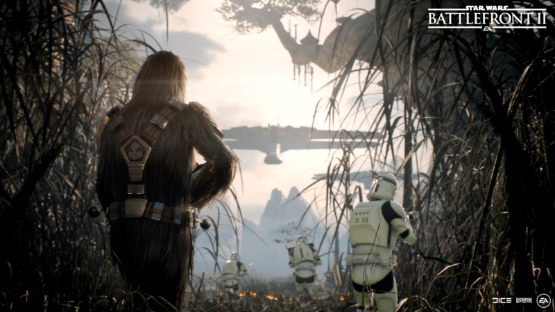 'Star Wars' Battlefront II - Kashyyyk Screenshot