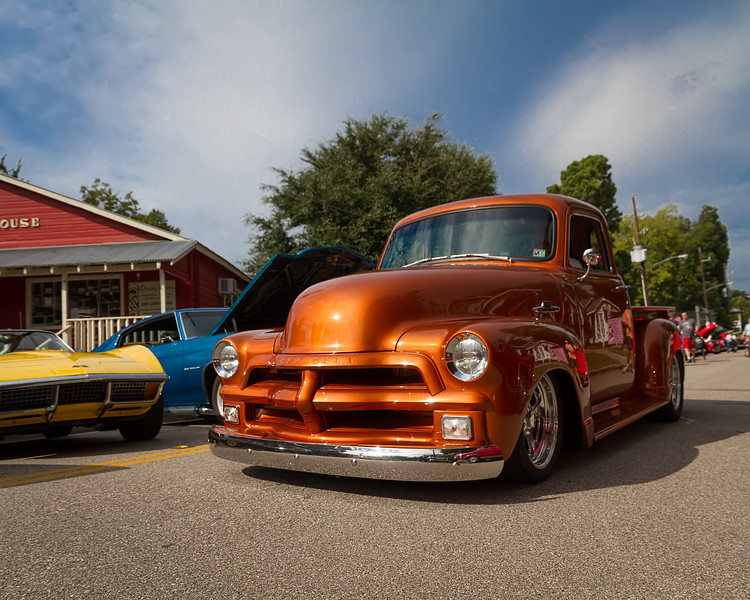 Classic chevy pickup. Photo by Tim Stanley