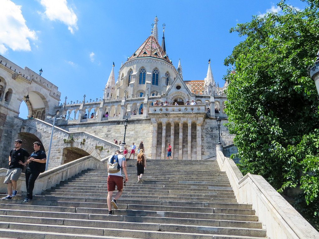 Fisherman's Bastion in Budapest is great!