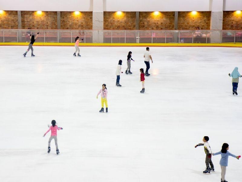 an ice skating birthday party ideas