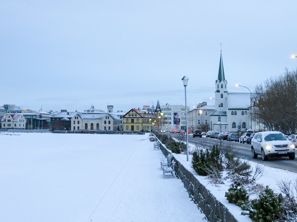 Reykjavik new years before the madness