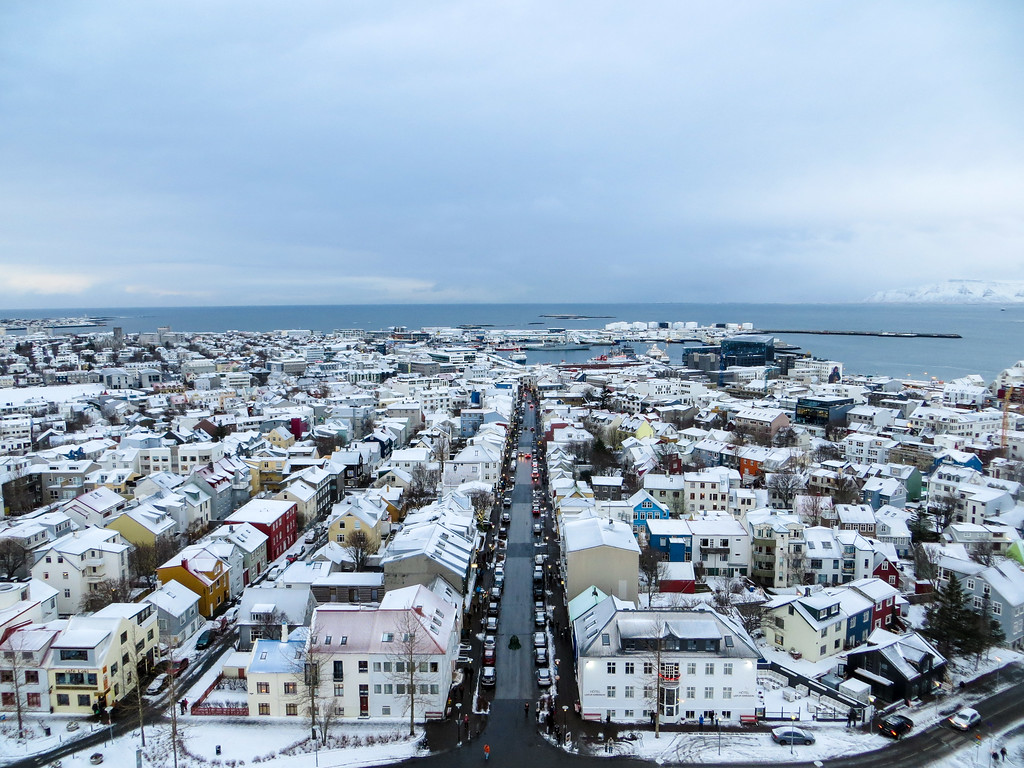 reykjavik new years eve looking gorgeous