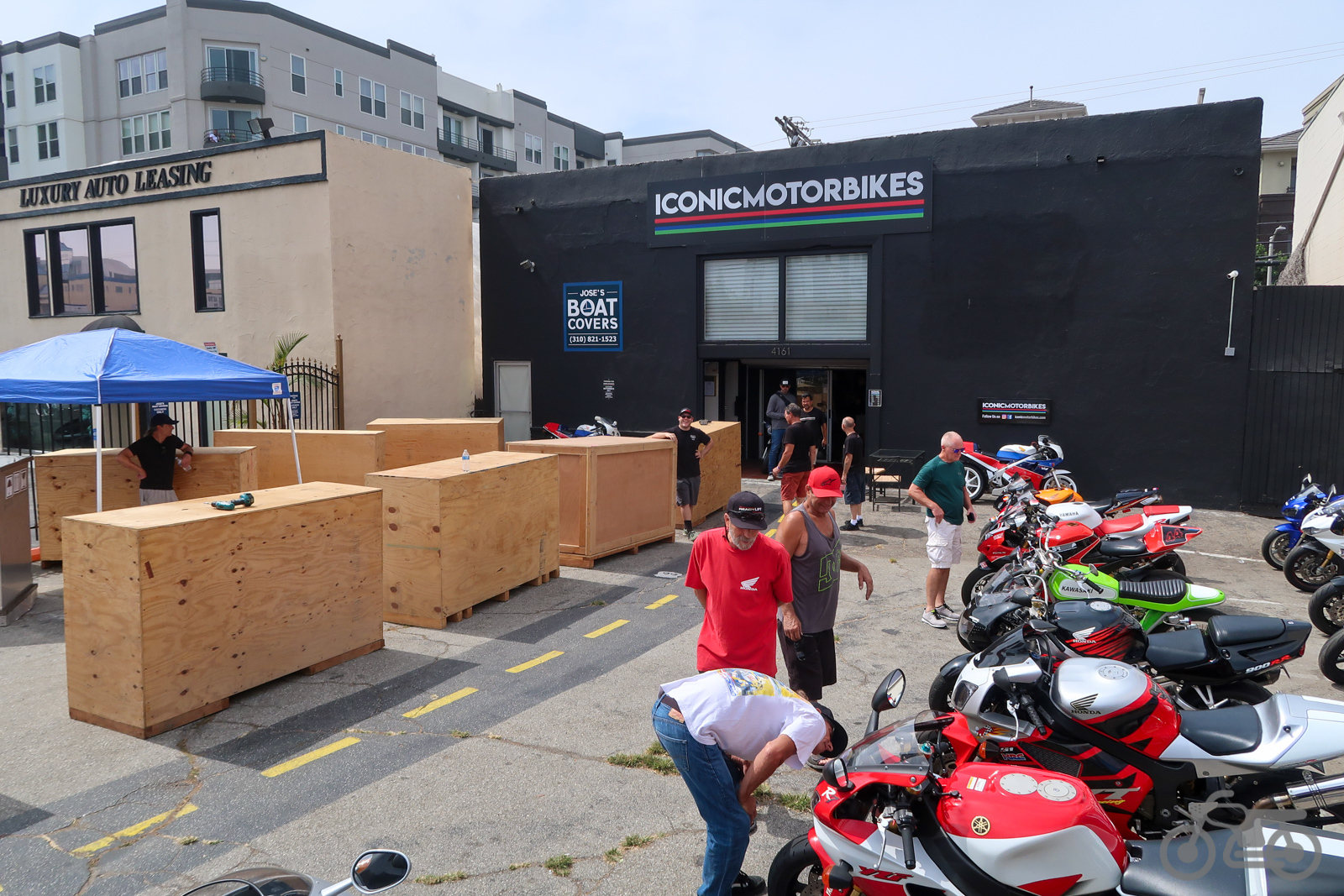 Picture Intermission – Iconic Motorbikes Open House