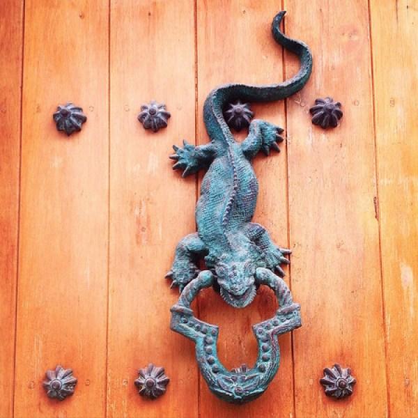 Colombia door knocker