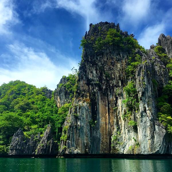 Big Lagoon in El Nido on the island of Palawan