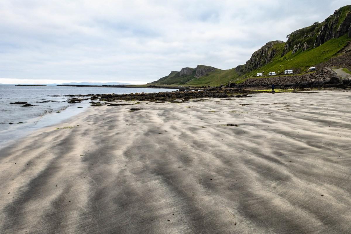 Marble beach on the Isle of Sky