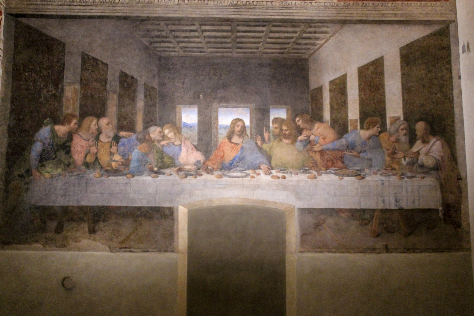 not sure what to do around milan then you gotta go to the last supper