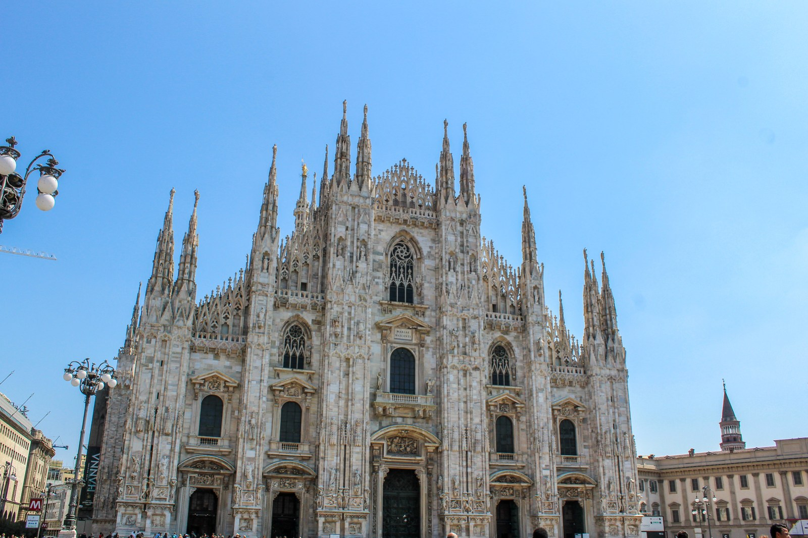 what is milan like? gorgeous. just look at the duomo.