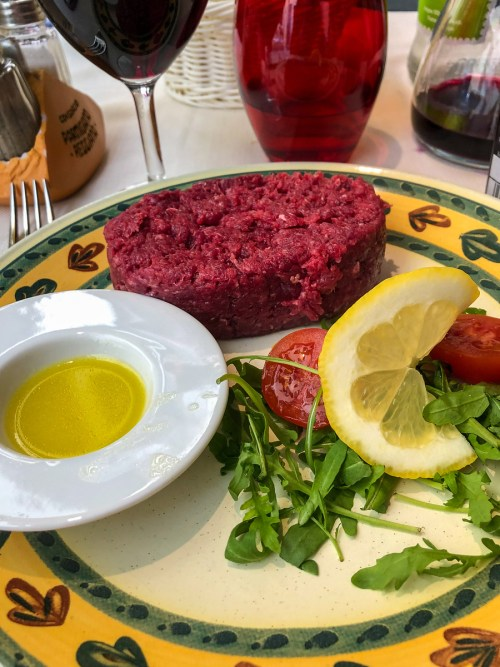 parma italy food raw horse meat is a speciality