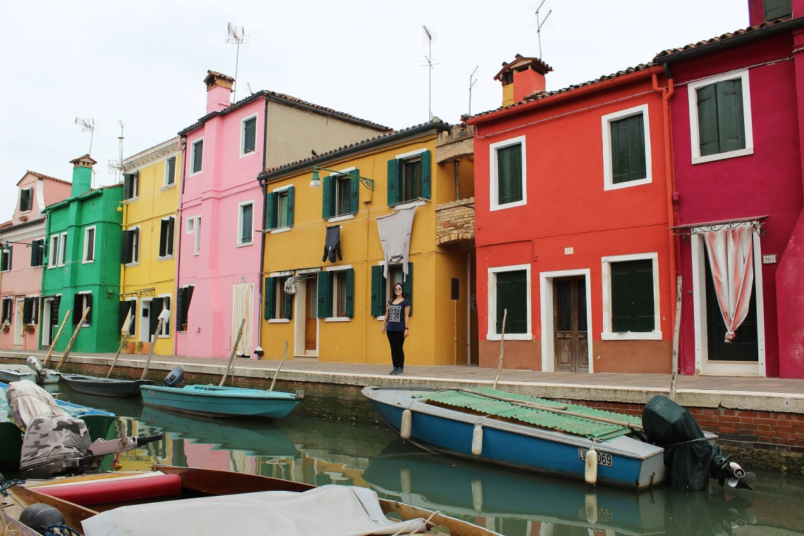 The Colorful Houses of Burano, Venice, Italy