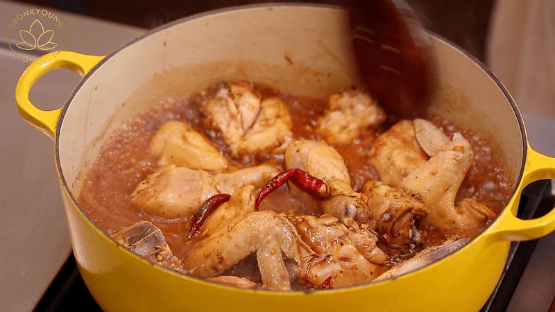 Jjimdak Korean Soy Braised Chicken Recipe