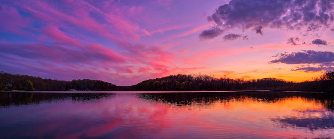 Silver Lake Sunset 4-25-2021