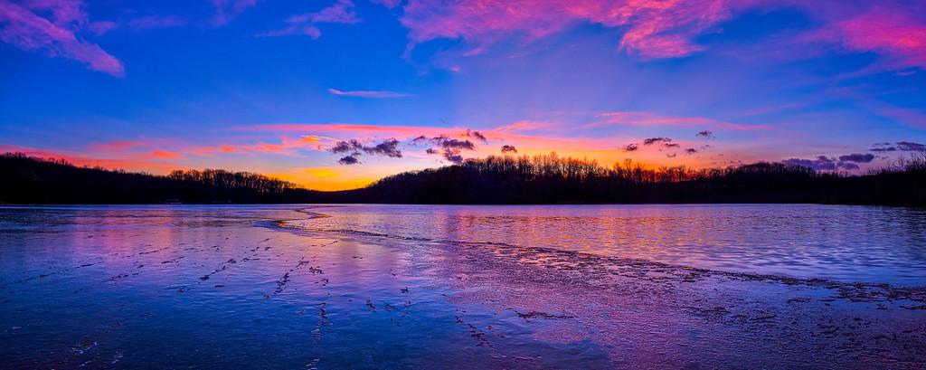 Silver Lake Sunset 1/20/2021