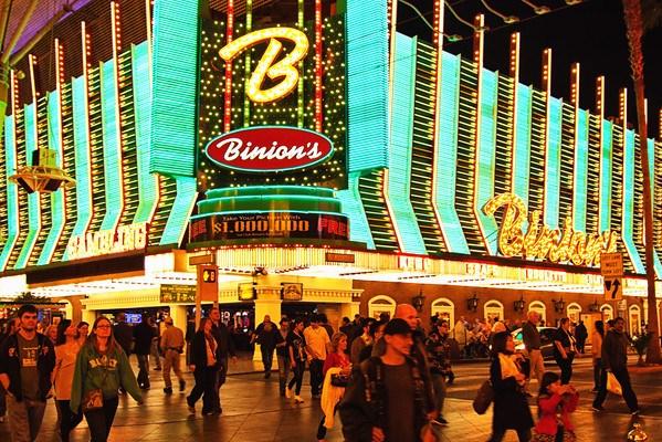 Binion's Casino on FremontStreet Experience, Las Vegas
