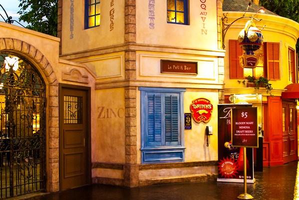 Le Petit Bar in Paris Las Vegas