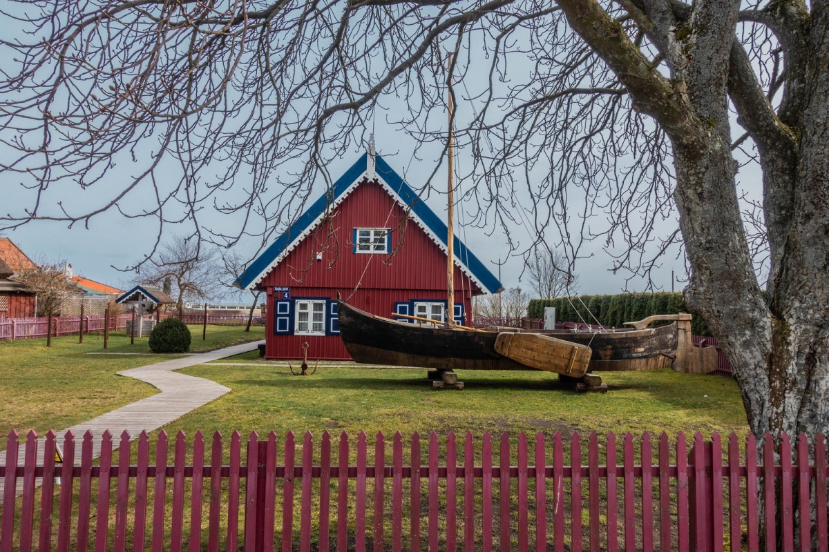 Fisherman's Museum in Nida, Lithuania