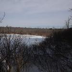 Little Massebesic early spring/mud season hike 7