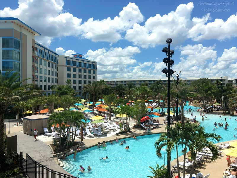 The pool at the Loews Sapphire Falls Resort