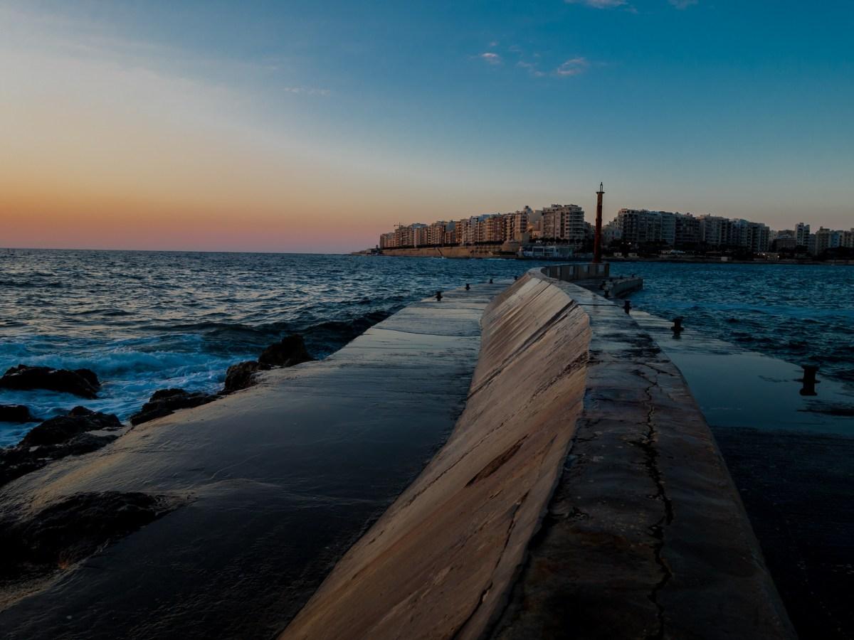 Malta Pictures - Sunrise in St Julian's