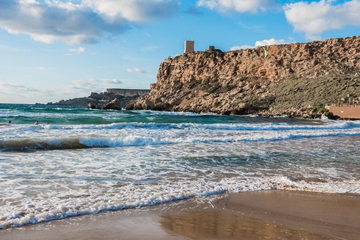 3 days in Malta - Ghan Tuffieha Bay